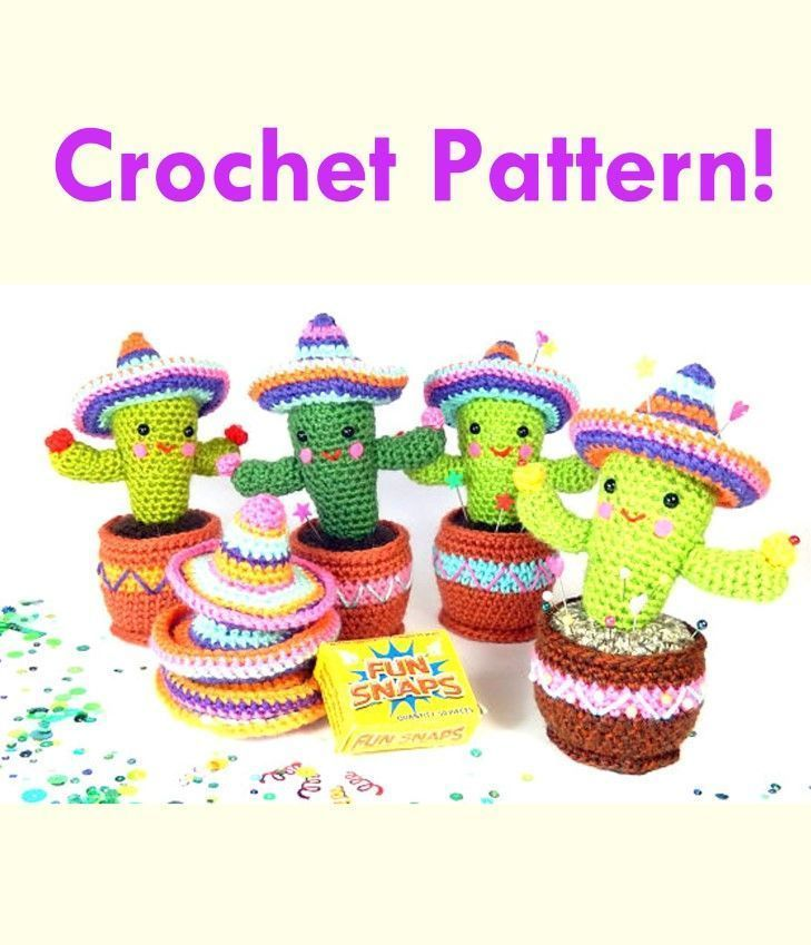 Crochet Characters Soft & Snuggly Cacti: 12 Succulent Designs ... | 849x729