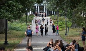 Swarthmore college has a small number of students so the student to staff ratio is 8:1.