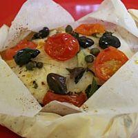 Italian Fish Bake In Parchment Paper Recipe