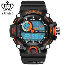 2016 New S Shock Men Sports Watches SMAEL Quality Brand Digital Analog Alarm Military Watch Relogio Masculino Digital-Watch     Tag a friend who would love this!     FREE Shipping Worldwide     #Style #Fashion #Clothing    Buy one here---> http://www.alifashionmarket.com/products/2016-new-s-shock-men-sports-watches-smael-quality-brand-digital-analog-alarm-military-watch-relogio-masculino-digital-watch/
