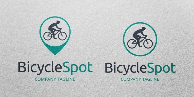 Bicycle Spot - Logo Template, only 29$ + VAT
