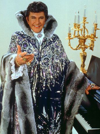 Liberace...  there will be no other... he was very kind to me when he appeared on stage in Glasgow in the early 60's