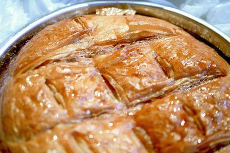 Το ξακουστό γαλακτομπούρεκο του Ασημακόπουλου | Κουζίνα | Bostanistas.gr : Ιστορίες για να τρεφόμαστε διαφορετικά