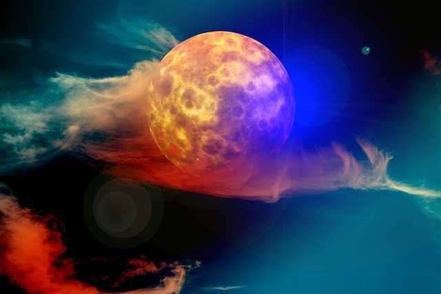 Lentemaan de uitwerking van de volle maan van 23-03-2016