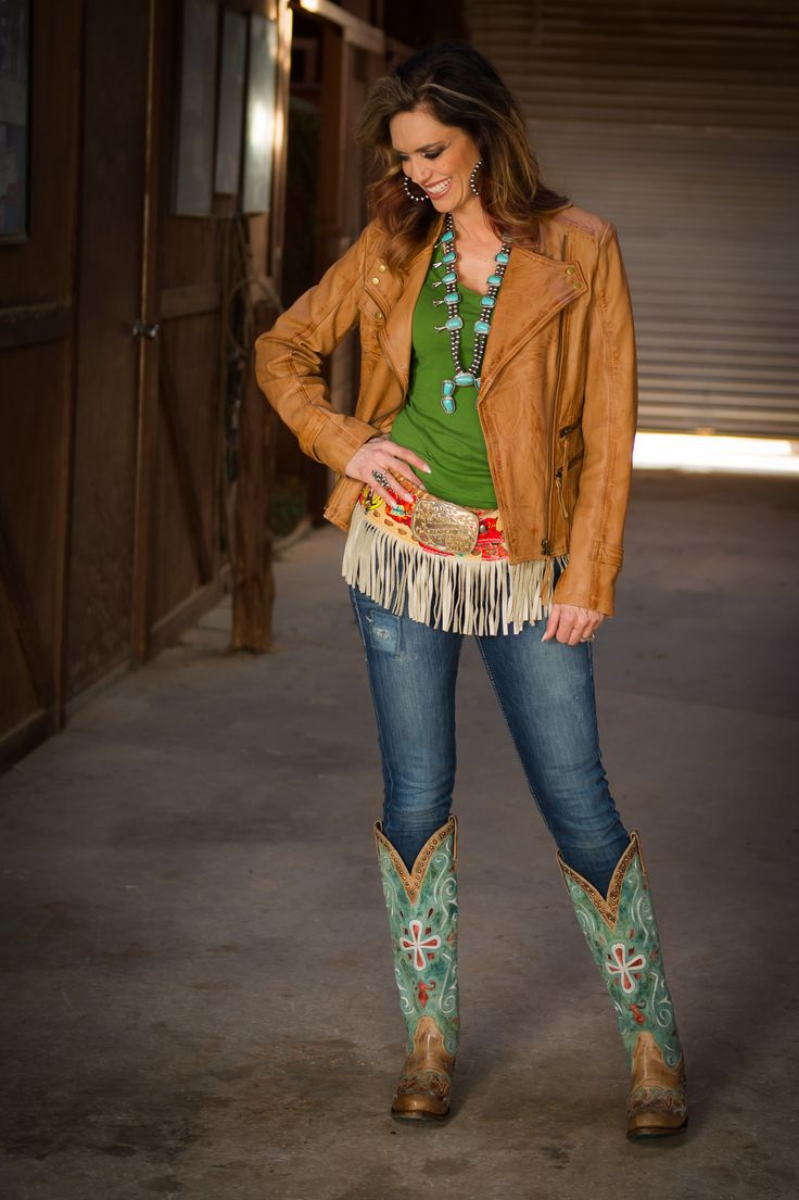 St. Patrick's Day Cowgirl outfit by STS Ranchwear, Ariat ...