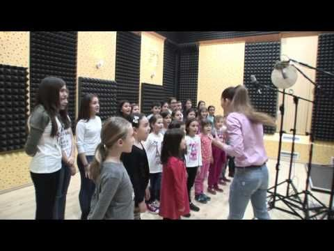 Preview - A day at the studio with one of the best Romanian singers Andra and Bravissimo Choir.