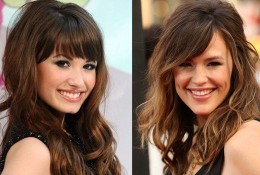 10 hairstyles with bangs that remove 10 years from your face