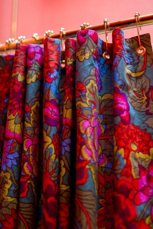 Upholstery Basics Grommet Top Shower Curtain