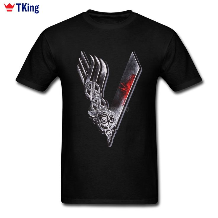 2017 Fashion Vikings T Shirt Sons of Odin Father's Gift Summer Clothing Short Sleeve Men T Shirt #Affiliate