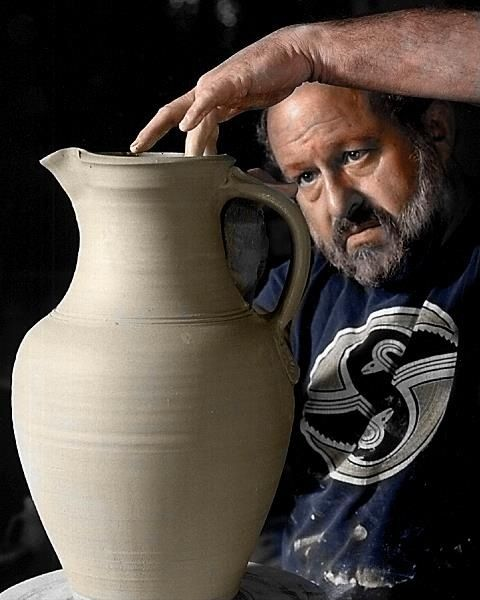 Robin Hopper. Robin Hopper has made his mark on me with his wealth of knowledge on glazes. He has made an indelible mark on the pottery world.