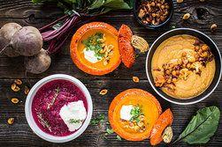 Ilustrační foto ke článku Polévky z pečené zeleniny: Pochutnejte si na květákové, dýňové či řepné