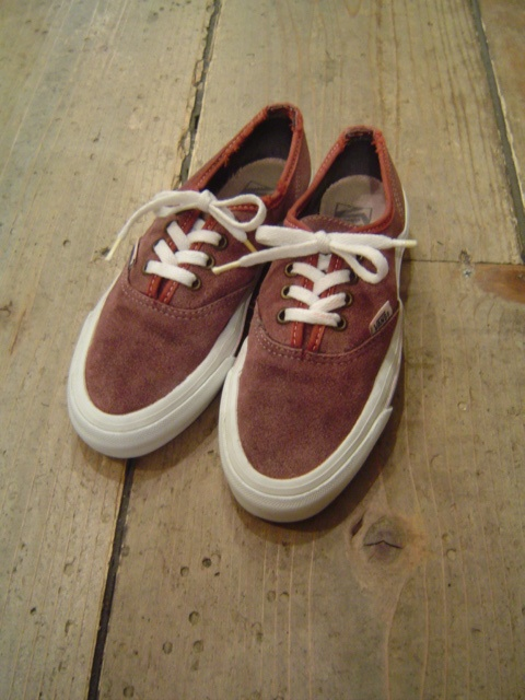 1990's  VANS  AUTHENTIC SUEDE  MADE IN USA