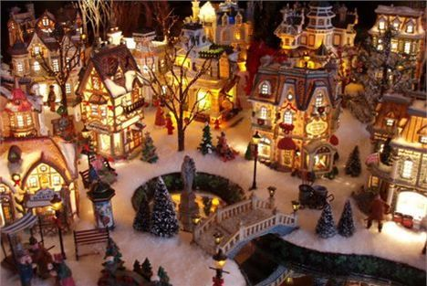 Loved this kind of Christmas Villages since i was a kid