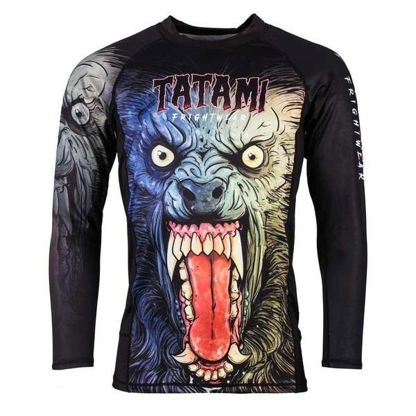 Tatami Frightwear Werewolf Long Sleeve BJJ Rashguard