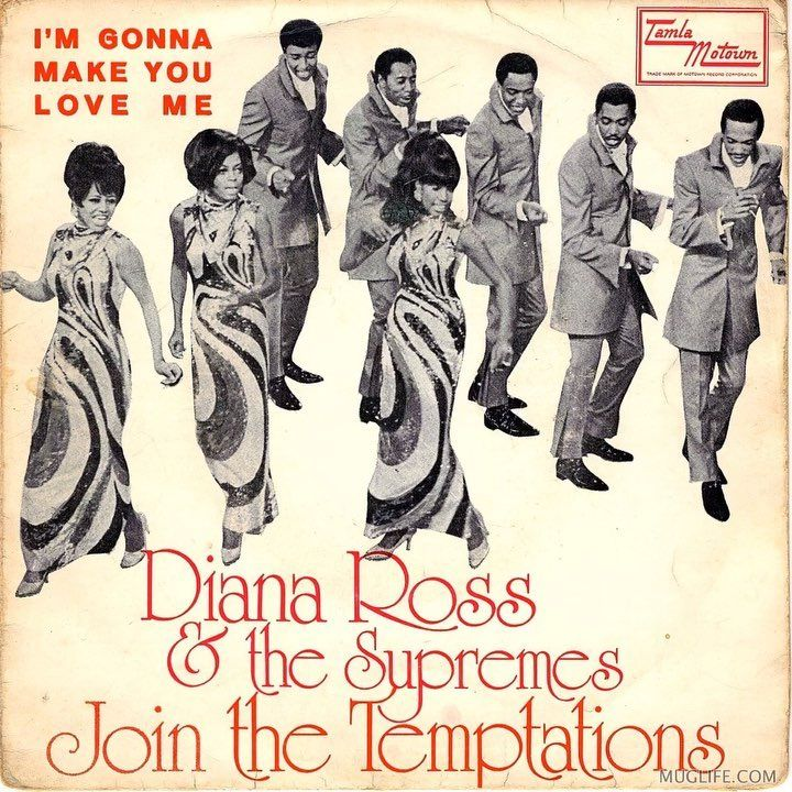 Marywilson Diana Ross Vinyl Art Cover My Love