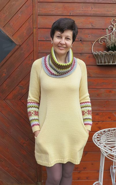 Ravelry: LucciolaS's Nordic sleeves