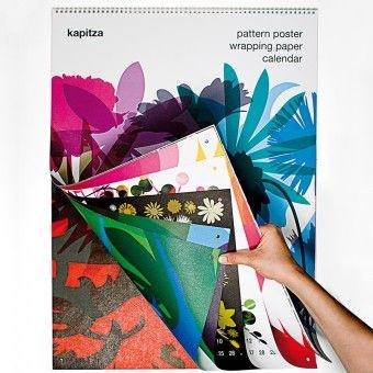 Verlag Hermann Schmidt KAPITZA Geschenkpapierkalender - Design-Kalender - Grafikdesign und Literatur | selekkt.com