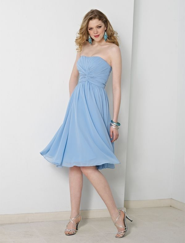 The 36 best Maid of Honor Dress Color - Powder Blue images on ...