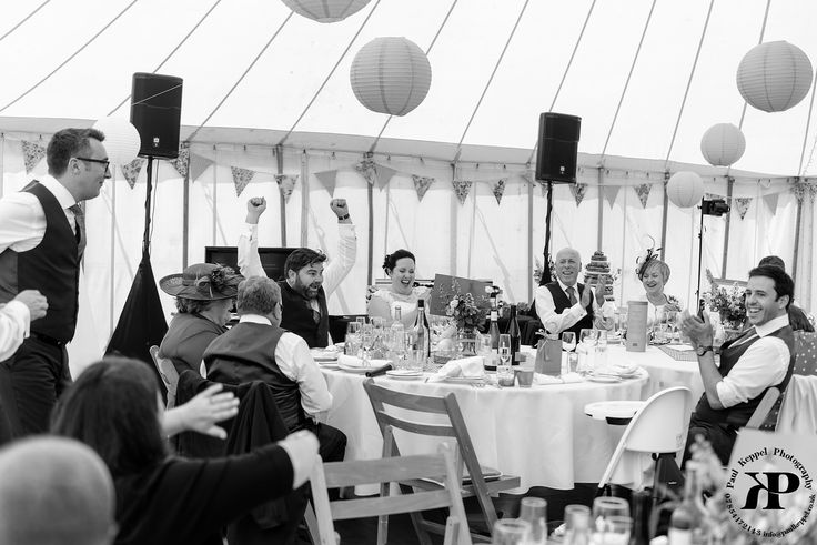 Marquee wedding in Cornwall by Paul Keppel Photopgraphy