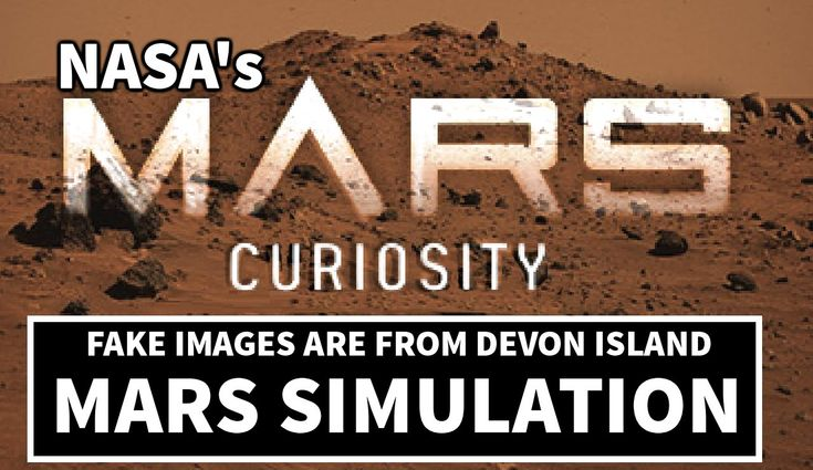 Simulated Mars Environment on Devon Island - Curiosity Images are NASA f...