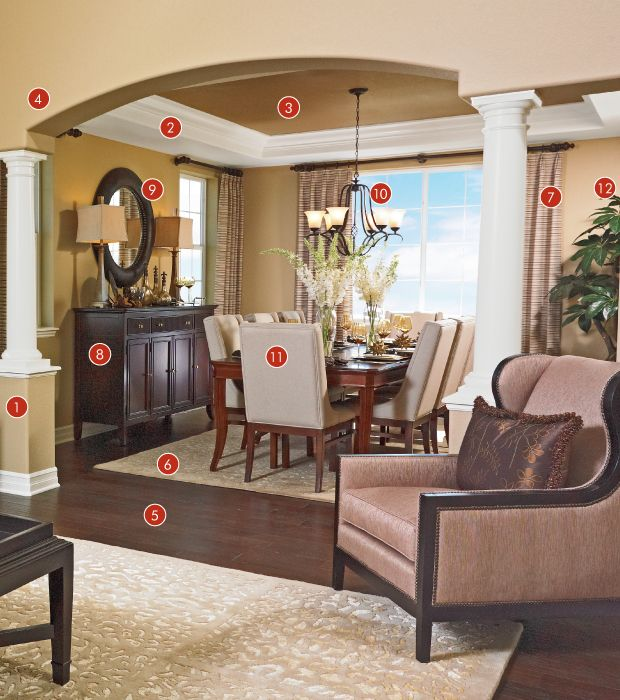 richmond american homes blog dining rooms nooks pinterest home. Black Bedroom Furniture Sets. Home Design Ideas