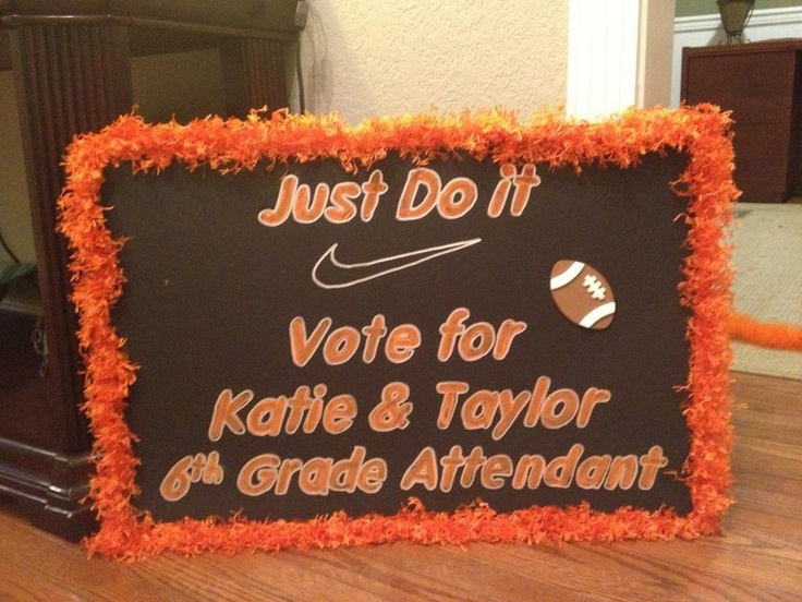 Homecoming signs | Prom queen | Homecoming posters ...