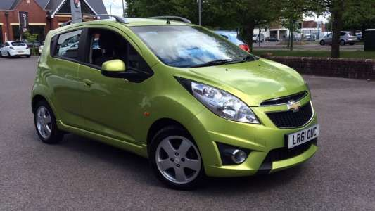 Used 2011 (61 reg) Green Chevrolet Spark 1.2i LT 5dr for sale on RAC Cars