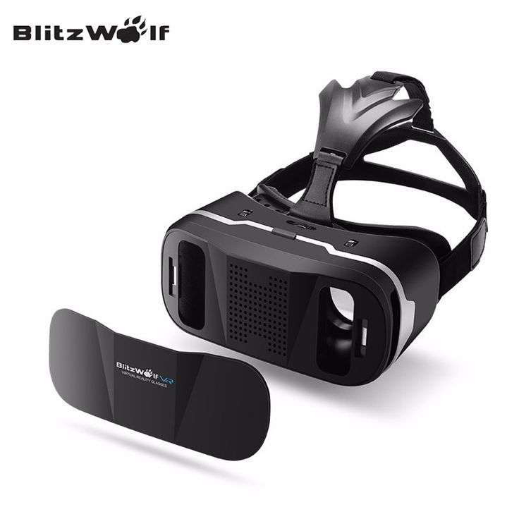 BlitzWolf® BW-VR3 Virtual Reality 3D VR Glasses Headset For 3.5-6.3 inch Mobile Phone