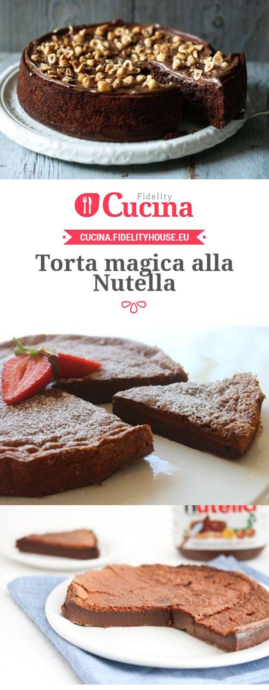 Torta magica alla Nutella