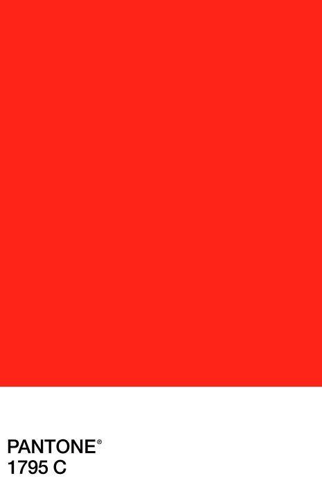 pantone 1795 c bright red pantone happiness pinterest