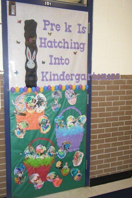 Easter Pre K door decoration | Classroom Ideas | Pinterest ...