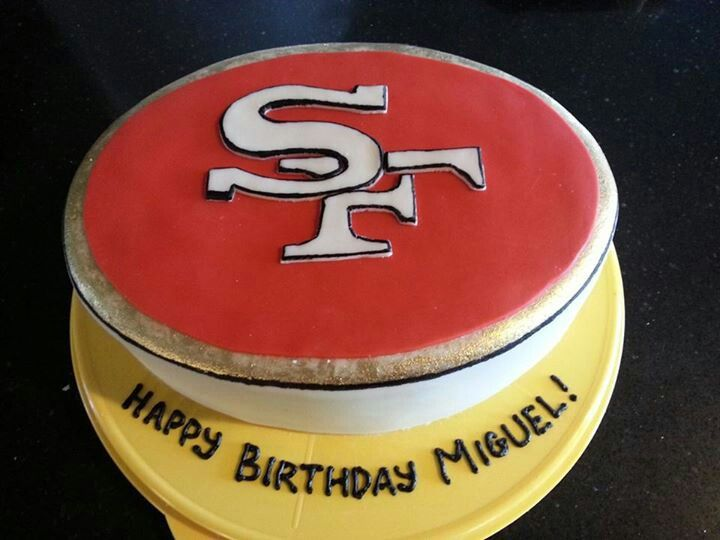 San Francisco 49ers Birthday Cake My Cakes Pinterest