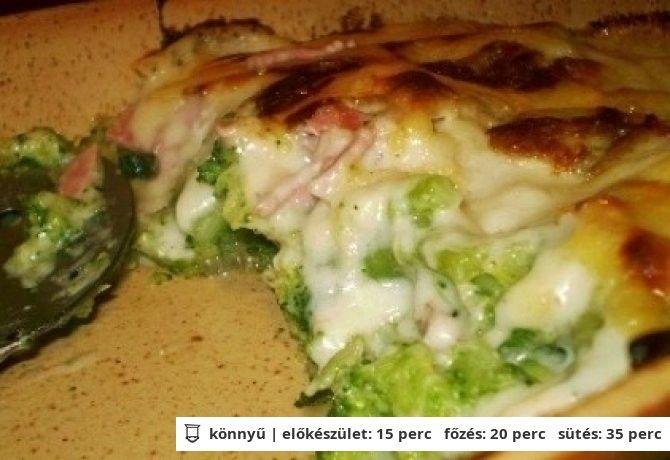 Brokkoli csőben sütve