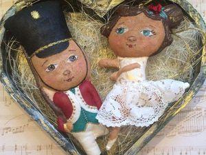 Новогодняя сказка на ёлку: создаем стойкого оловянного солдатика и прекрасную балерину
