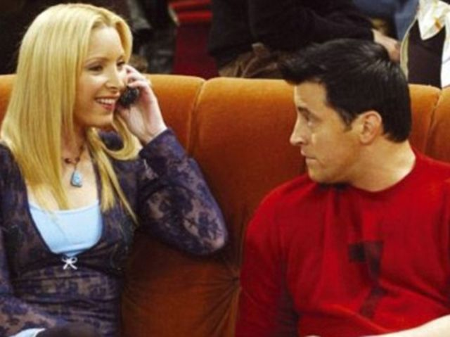 I got: 60% Pheobe and 40%  Joey! The Definitive Friends Personality Quiz