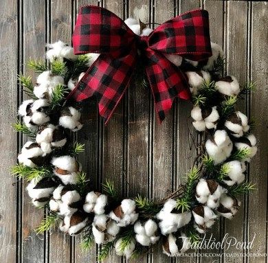 Cool Rustic Wreaths Christmas Decoration Ideas03