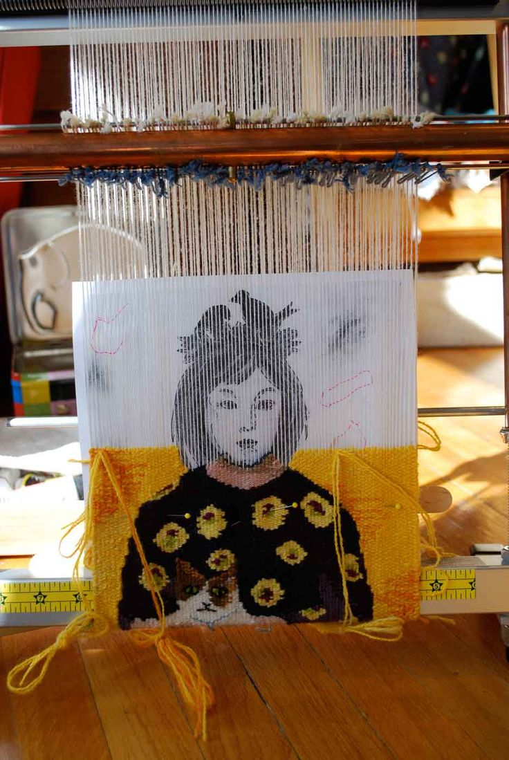 I'm still weaving the small tapestry for the non-juried ATA small format tapestry exhibit. The tapestry is due in March, and I have some ...