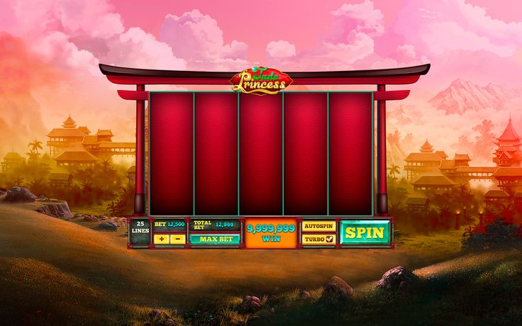 Chinese slot machine on Behance