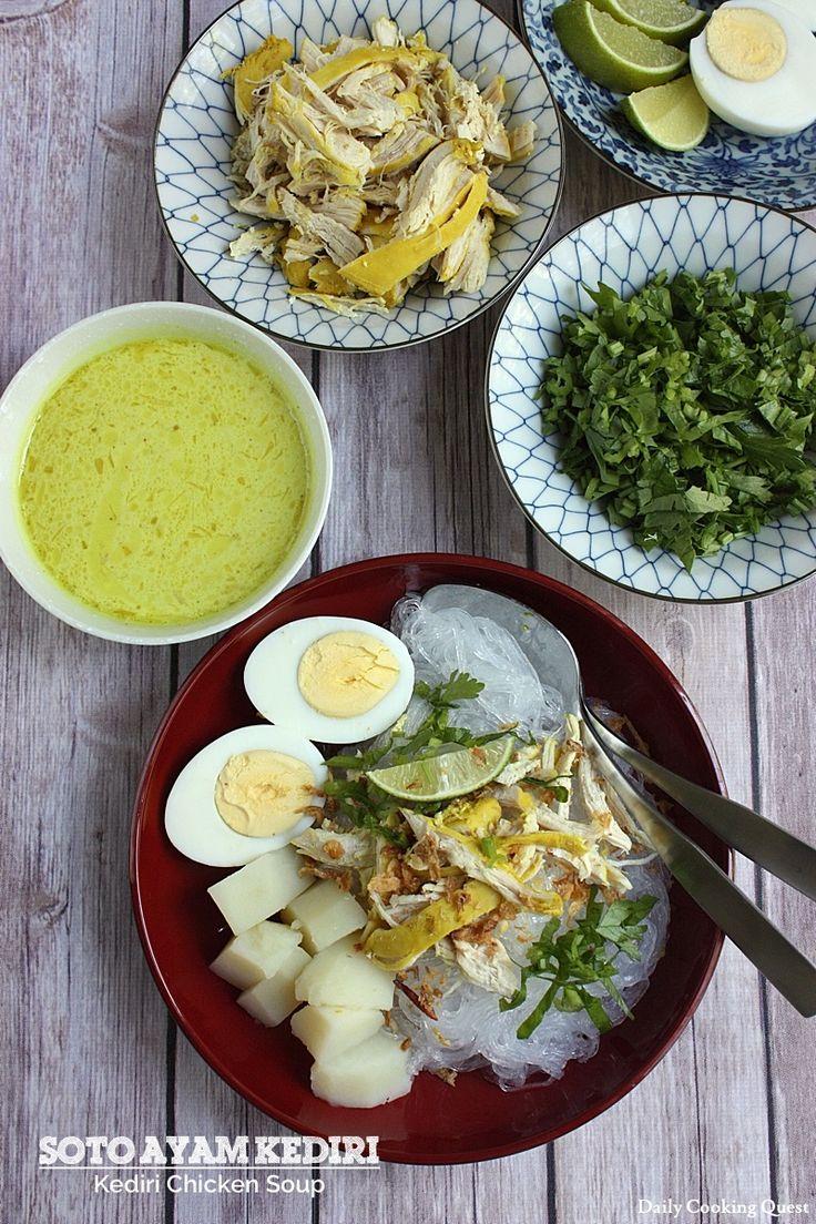 Soto Ayam Kediri – Kediri Chicken Soup