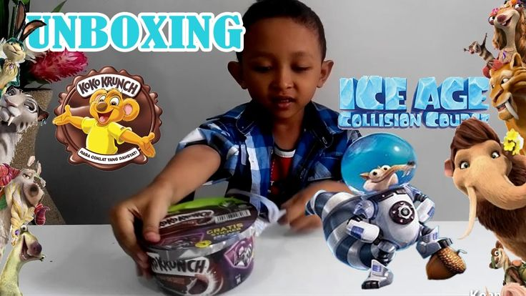 Unboxing Nestle Koko Krunch - Get the free Ice Age Sticker | Keanu Kids