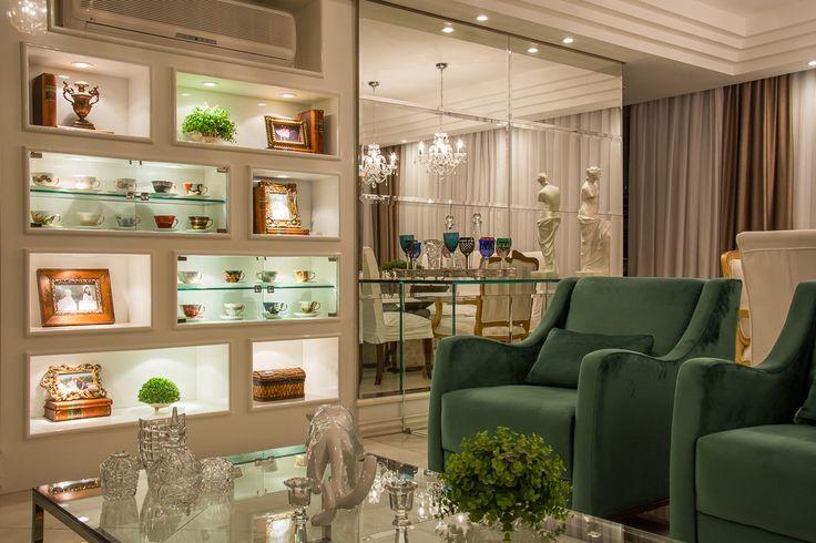 Sala De Estar Frances ~   Salas de estar clássicas por marli lima designer de interiores