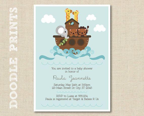 noahu0027s ark invitation printable baby shower invitation noahs ark baby shower animal birthday party invitation noahs ark birthday jungle