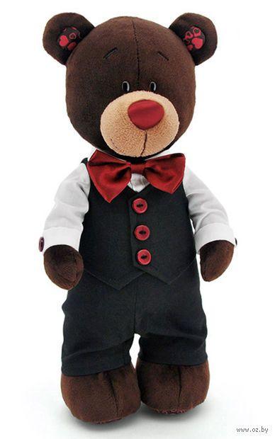 """Мягкая игрушка """"Медведь Choco. Жених"""" (35 см)"""