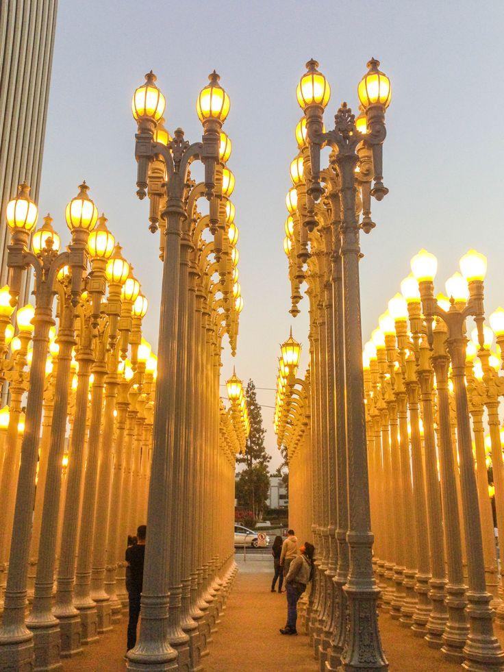 Urban Light, Los Angeles County Museum of Art (#LACMA), Los Angeles, Oct 2017