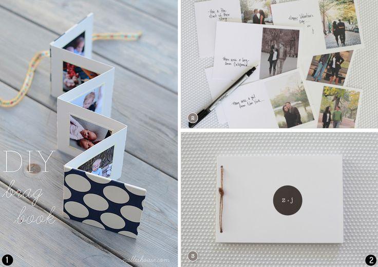 Insp rate con 8 tutoriales diferentes para aprender a hacer un lbum de fotos diy personalizado - Hacer un album de fotos casero ...