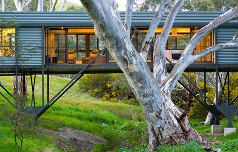 Max Pritchard Architect. Maison sur pilotis. | Décoration maison, meubles maison jardin et design intérieur sur Artdco.net