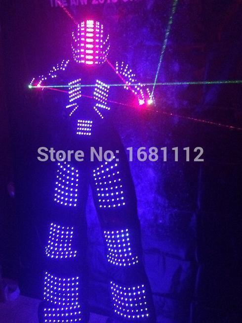 LED robot Costume / LED Clothing / Light suits / LED Robot suits /  robot / led lights costumes