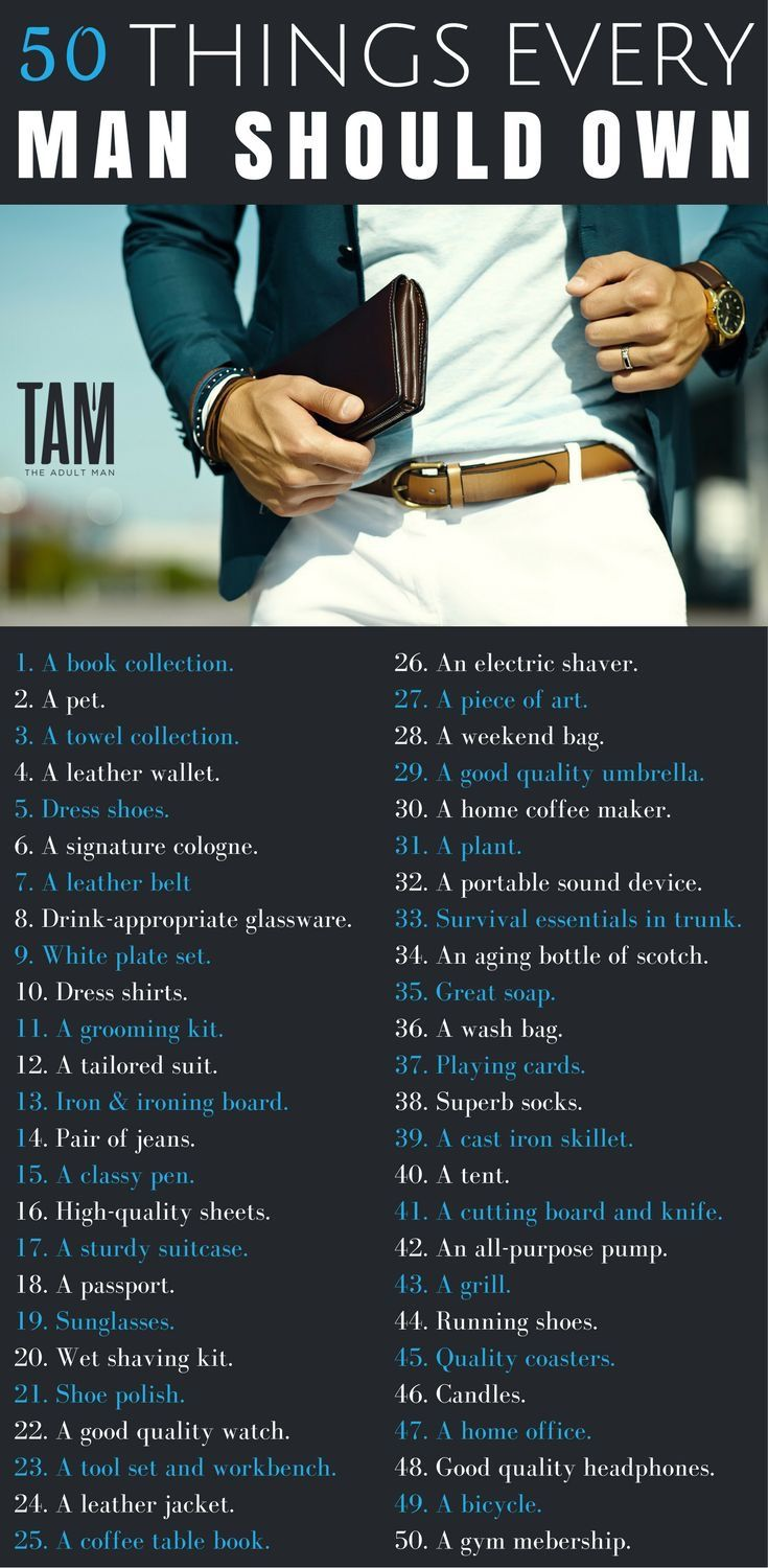 50 Things Every Man Should Own