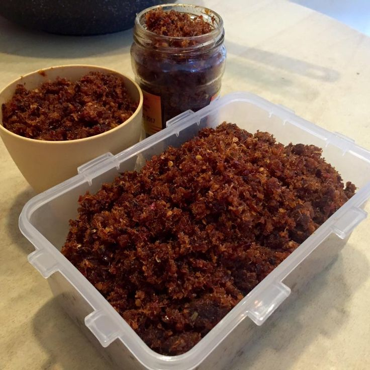 Singapore Home Cooks: Hae Bee Hiam by Rachel Lim