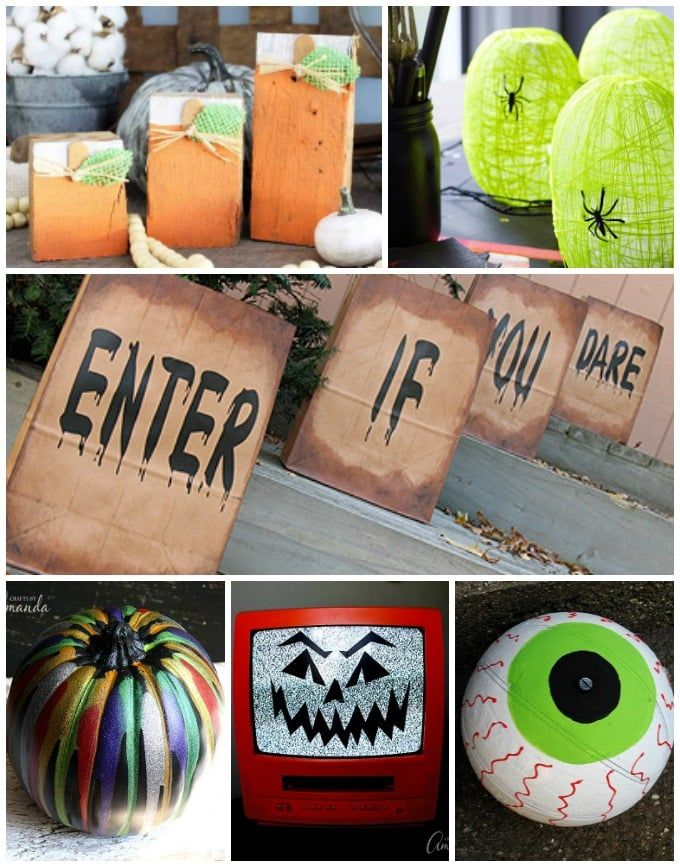 28 Diy Halloween Decorations If You Are Looking For Crafty Ways